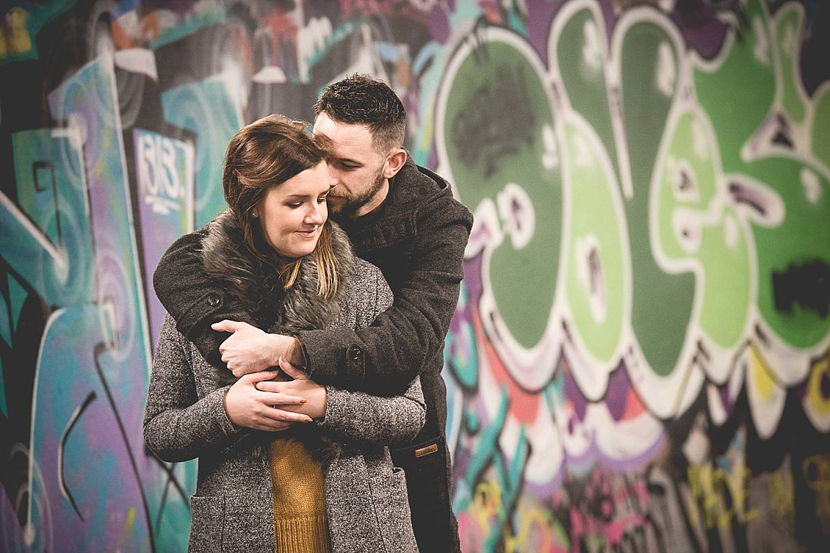Autumn City Centre Engagement: Kerry & Alan