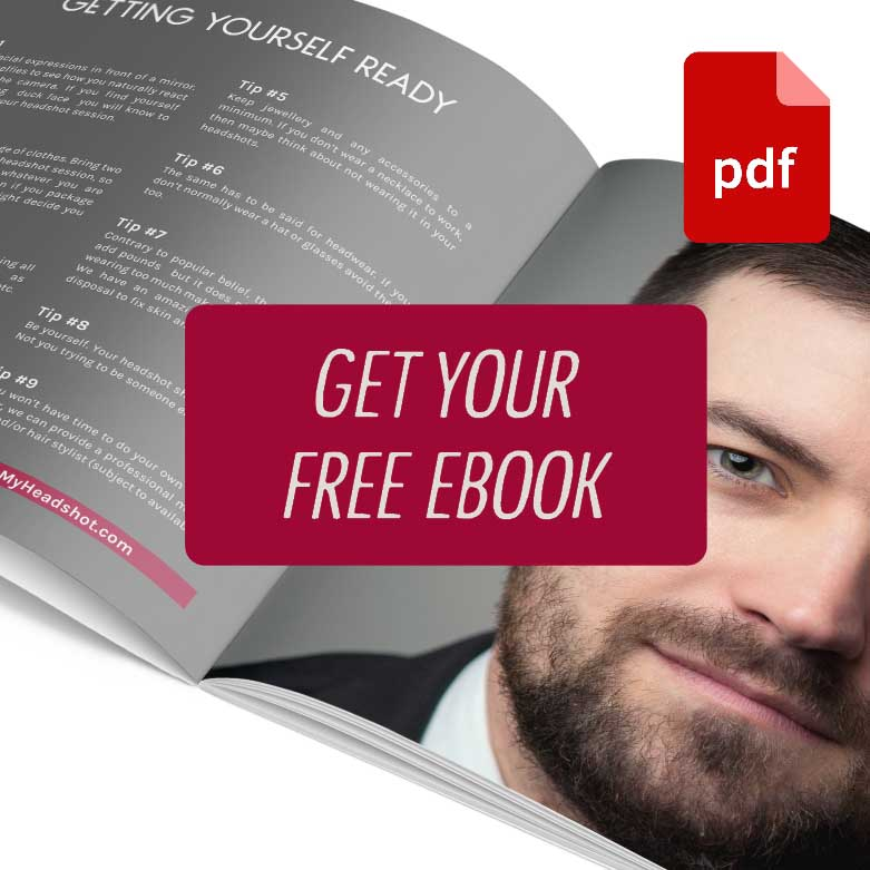 Free headshot photography e-book