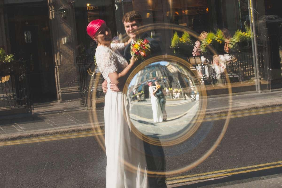 Bohemian City Centre Elopement Wedding: Georgina & Scott