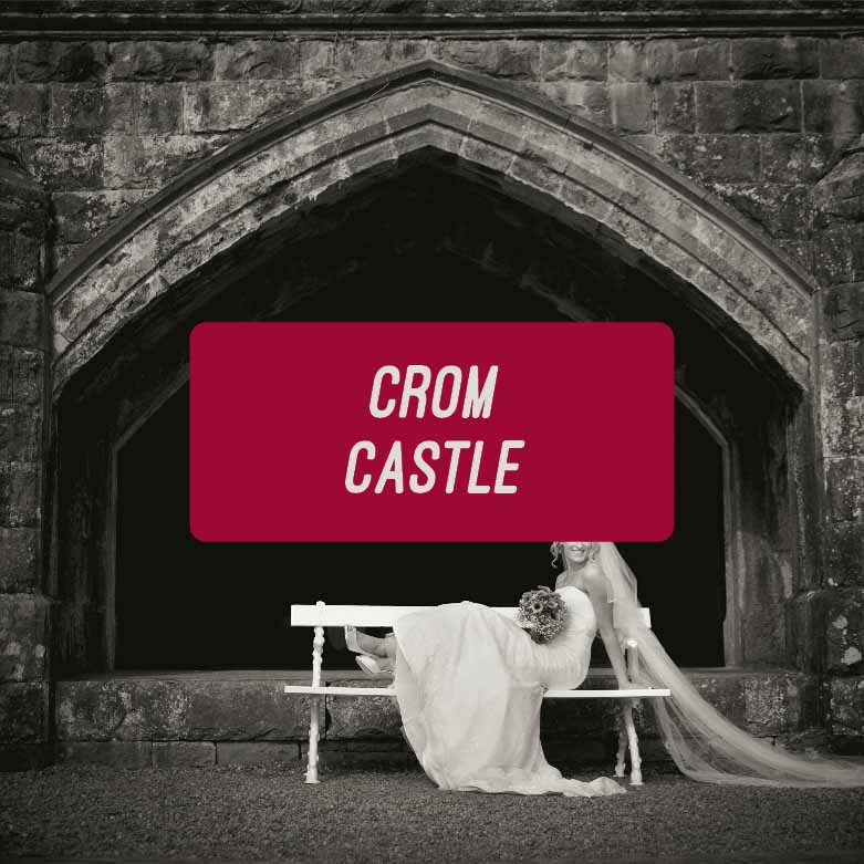 Historic West Wing at Crom Castle Wedding Photographs