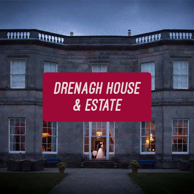 Stunning Drenagh House Estate Wedding