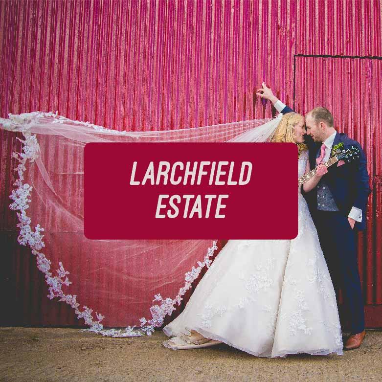 Colourful Larchfield Estate Wedding
