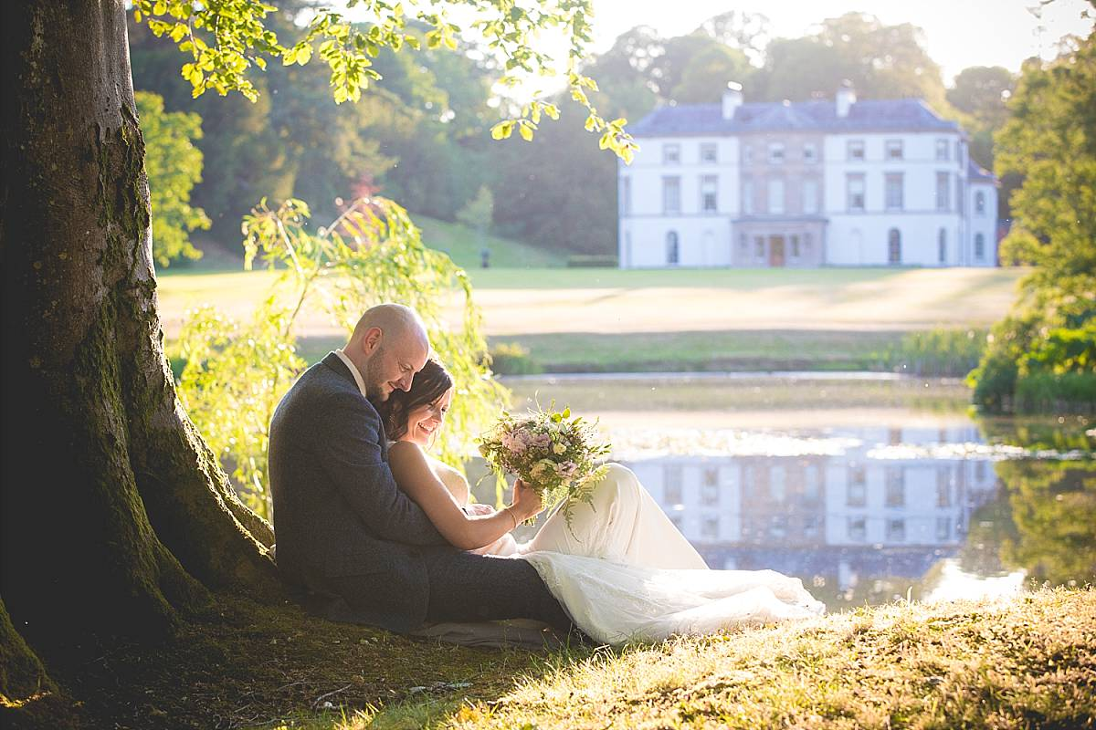 Elegant Summer Christ the Redeemer Church and The Carriage rooms at Montalto Wedding : Orla & Joe