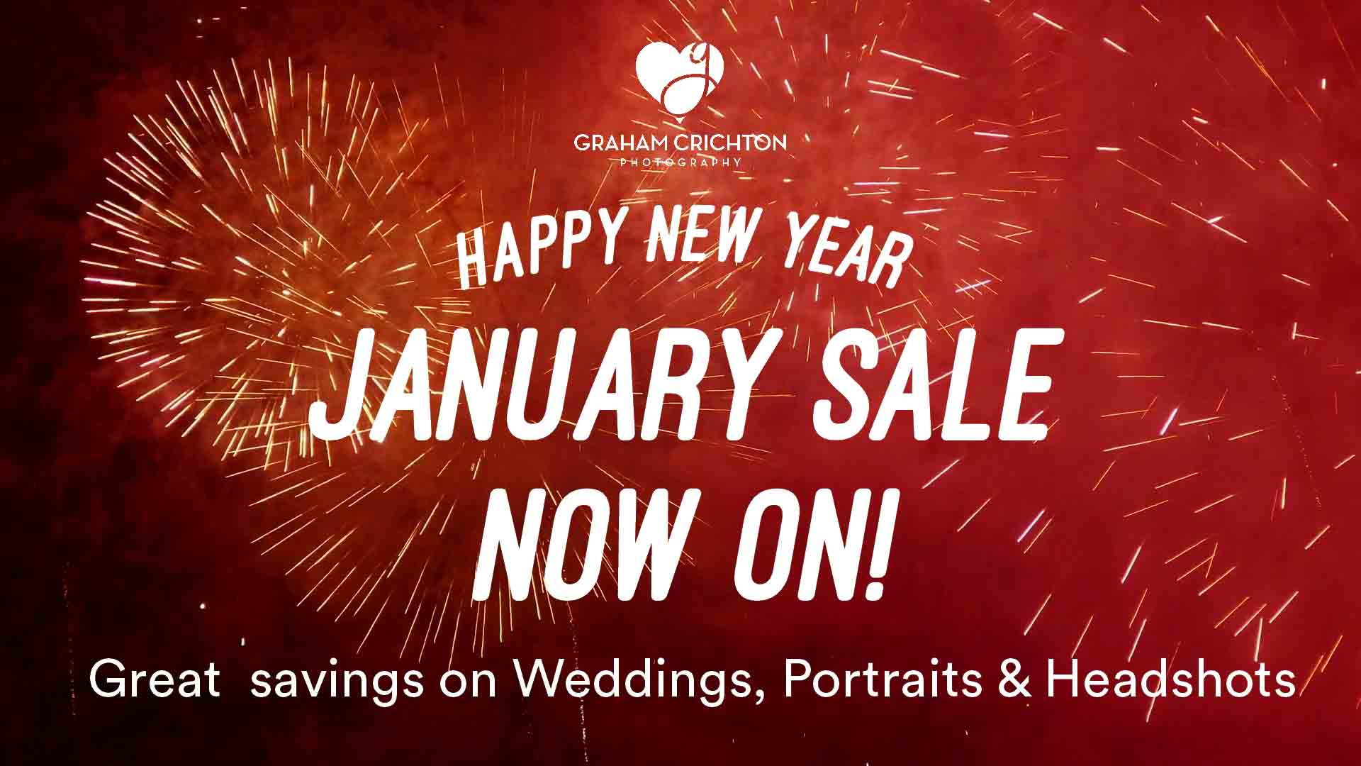 January Photography Sale Now On!