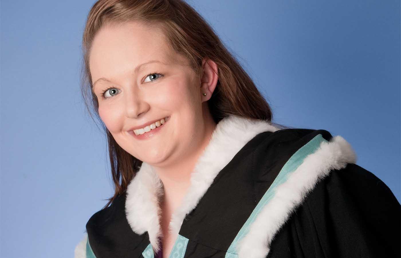 Graduation photography in Belfast studio