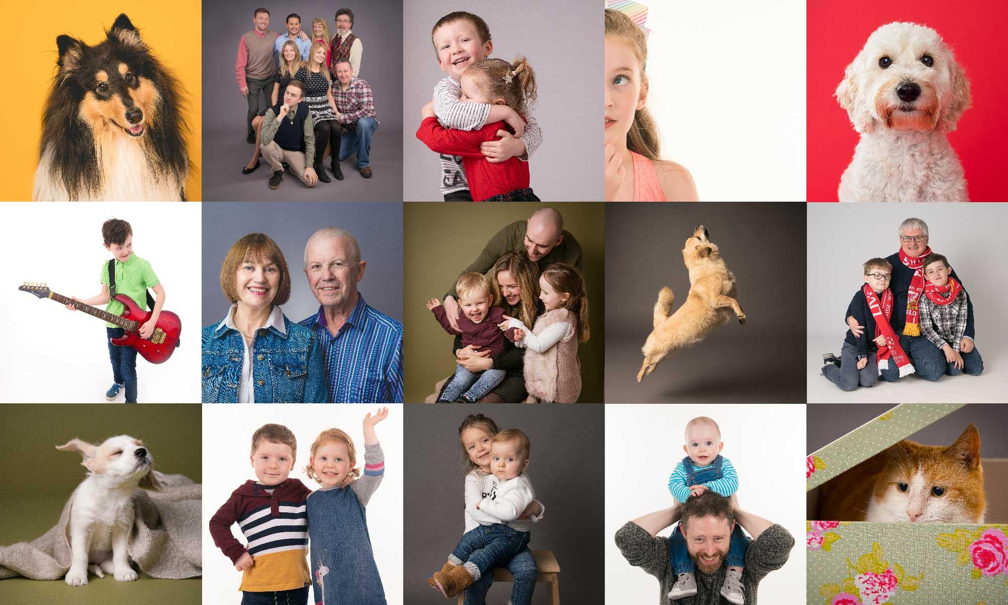 People and Pet Portrait Studio Belfast