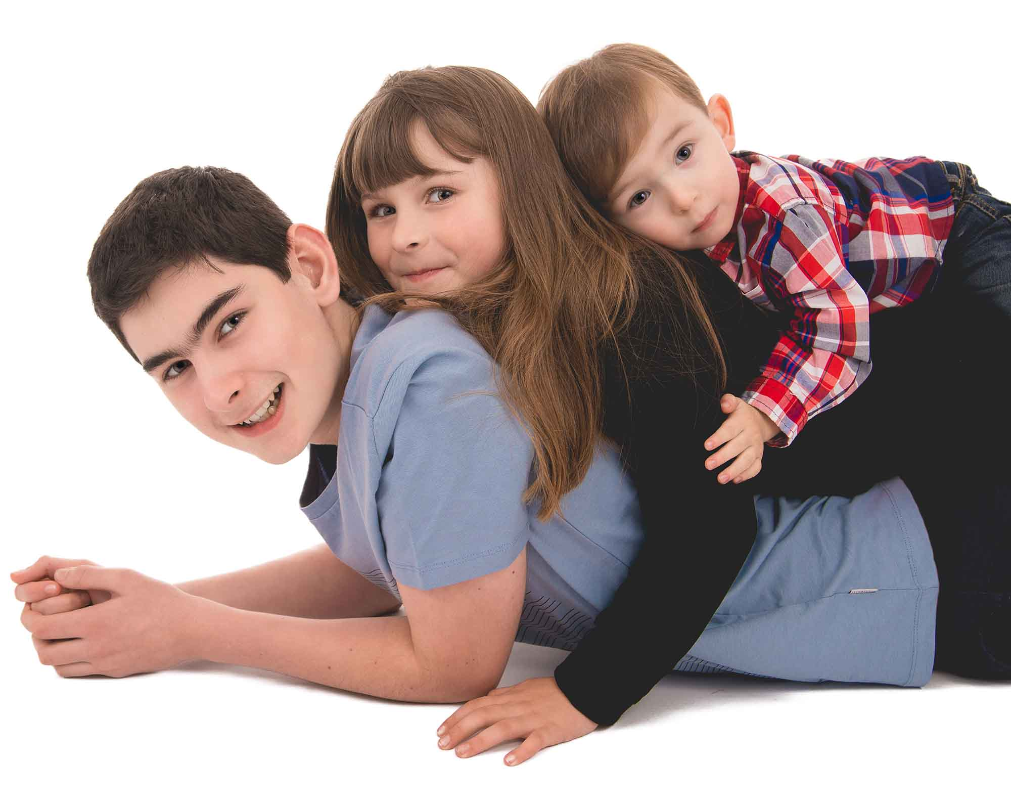 Family Portrait Photographer Belfast - Relaxed Family Run Studio