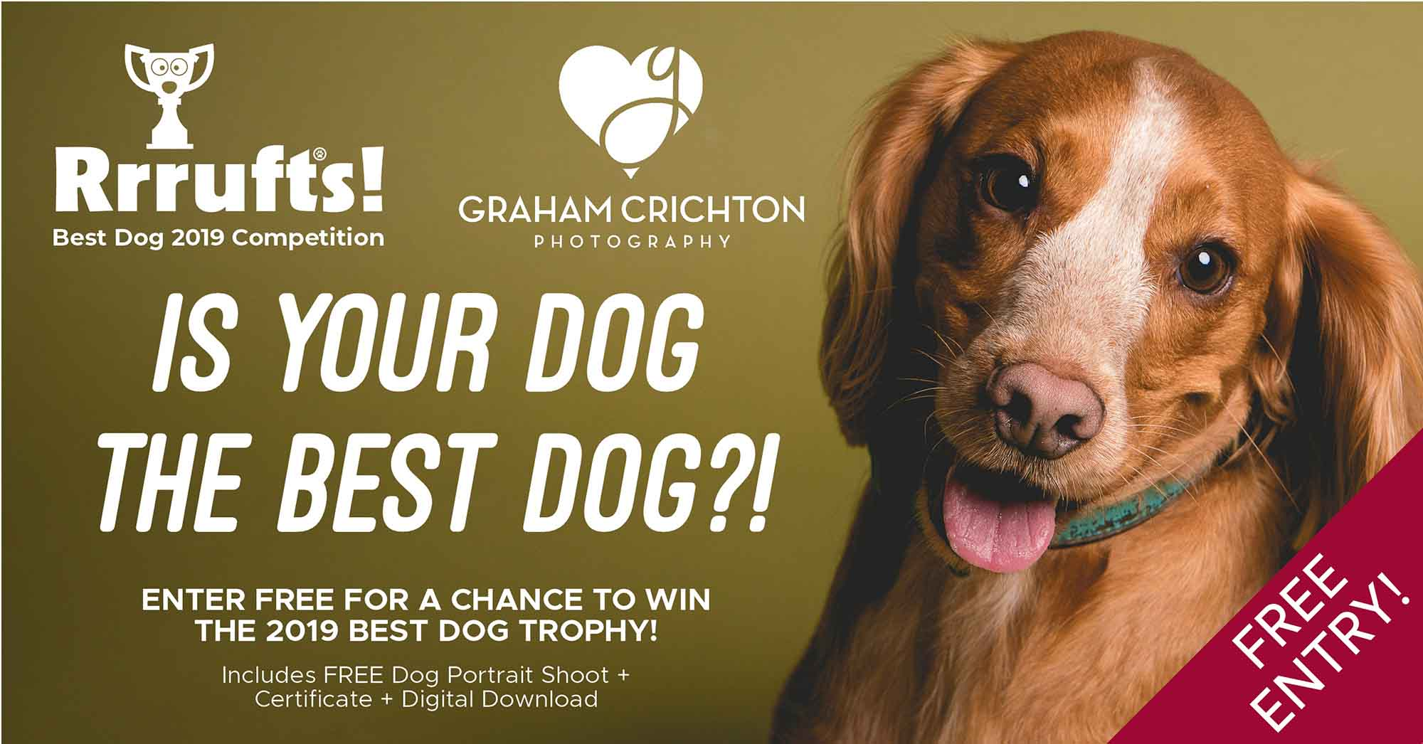Best Dog 2019 Competition - Enter FREE Here