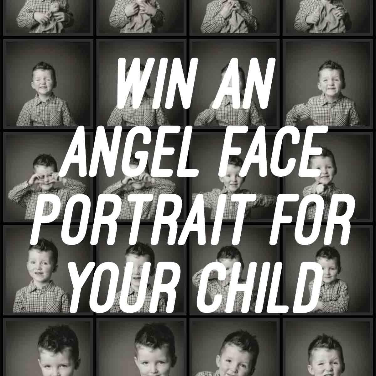 Win an Angel Face Portrait Session for Your Child