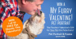 Win a portrait shoot for your Pet this Valentine's!
