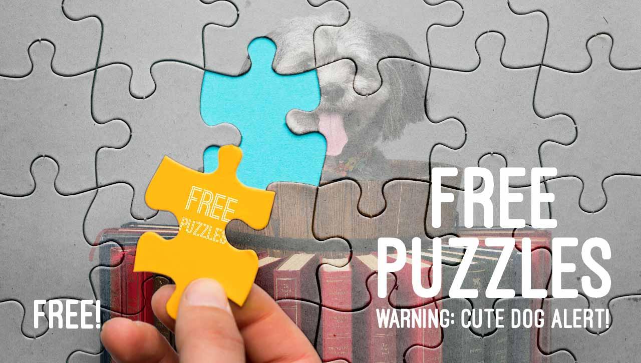 Free dog puzzles