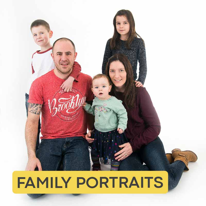 Family portrait photographer Belfast