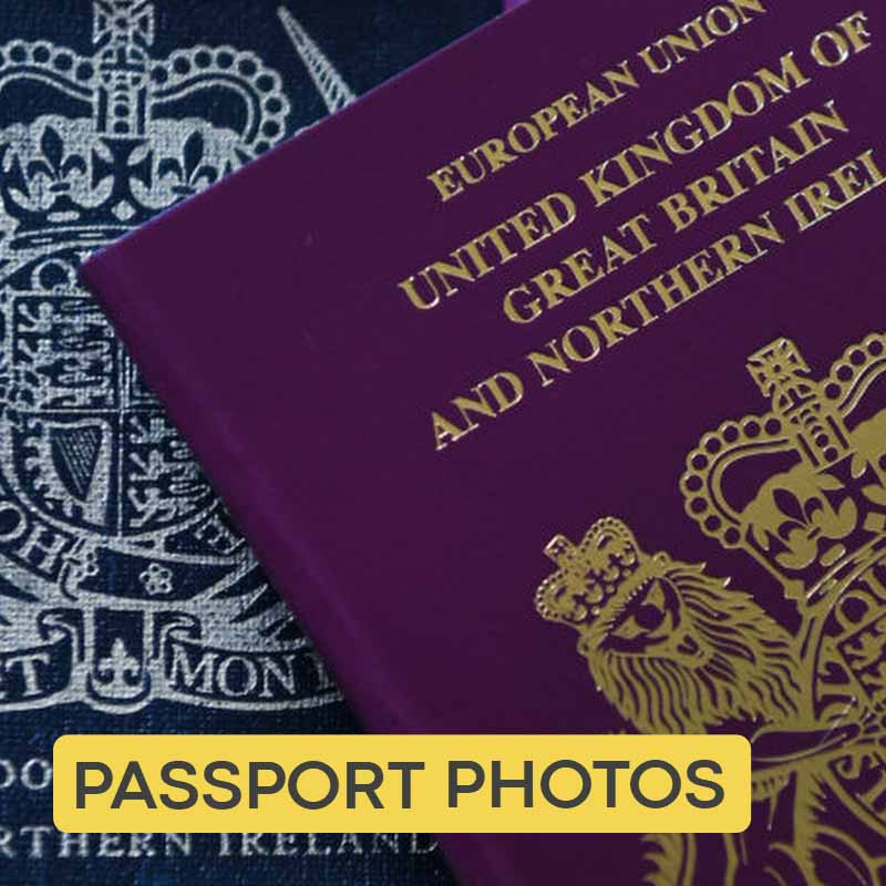 Passport photographs and visa photographer Belfast