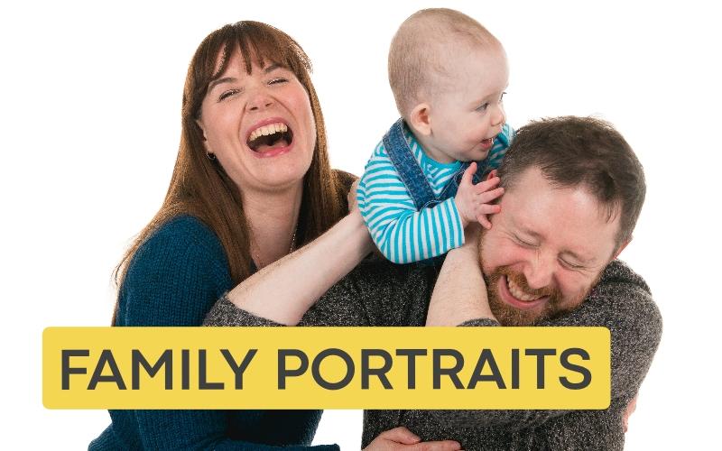 Family portrait photographer Belfast