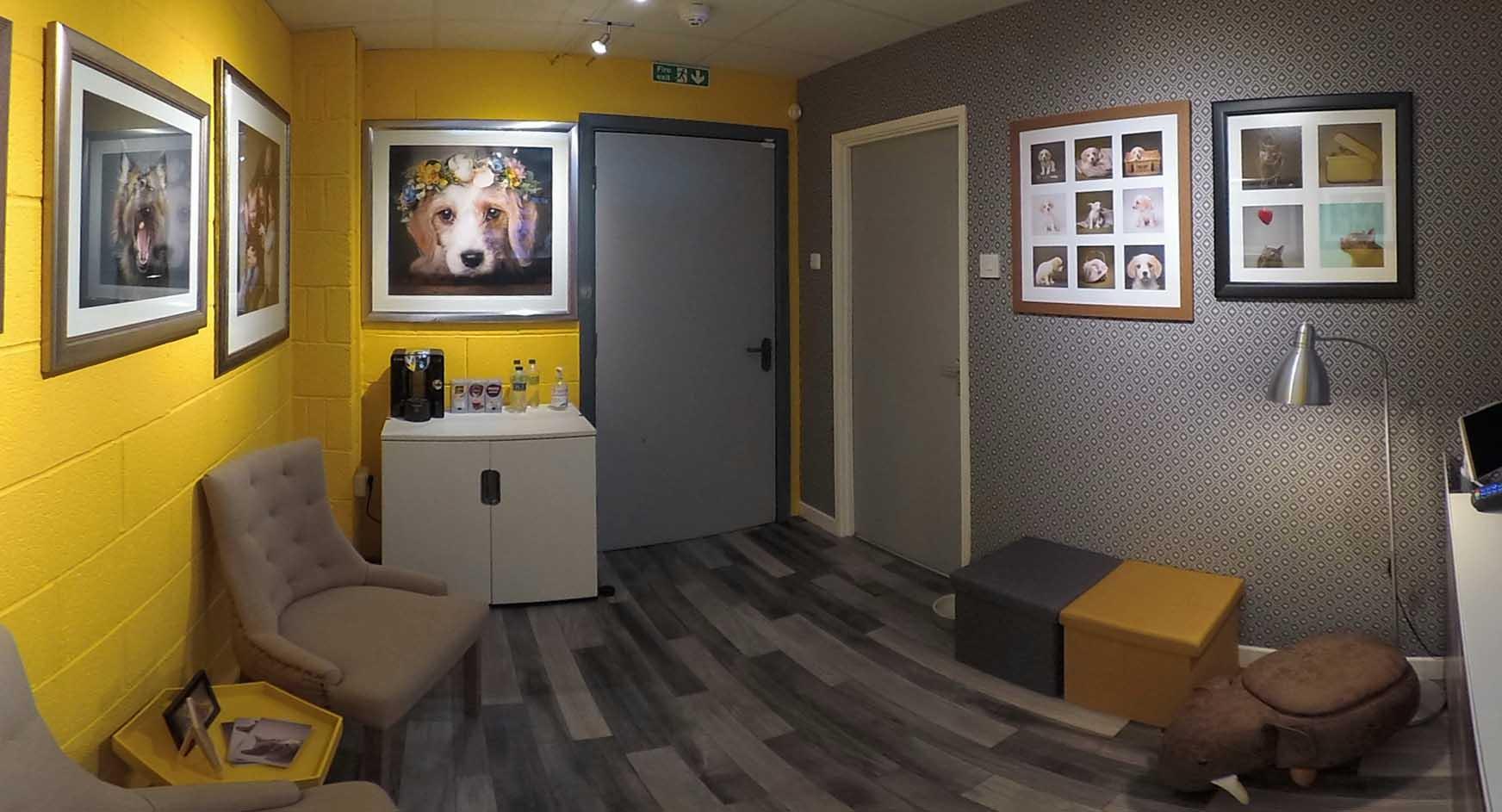Photo Studio Reception