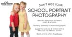 School Photography from £25 - Don't Miss Out on Your School Photos