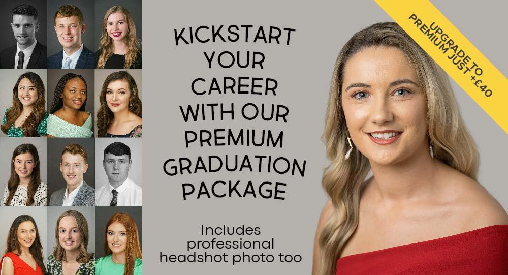 Premium Graduation Portrait