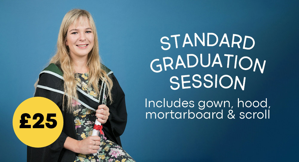 Graduation Photography from £25