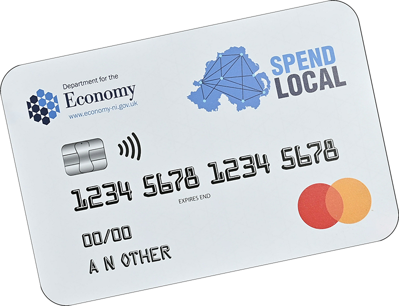 Use your SpendLocal card with us